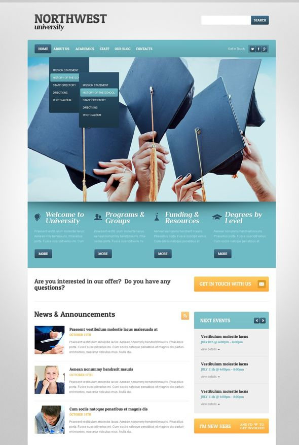 35  Best Education WordPress Themes - Designsave.com