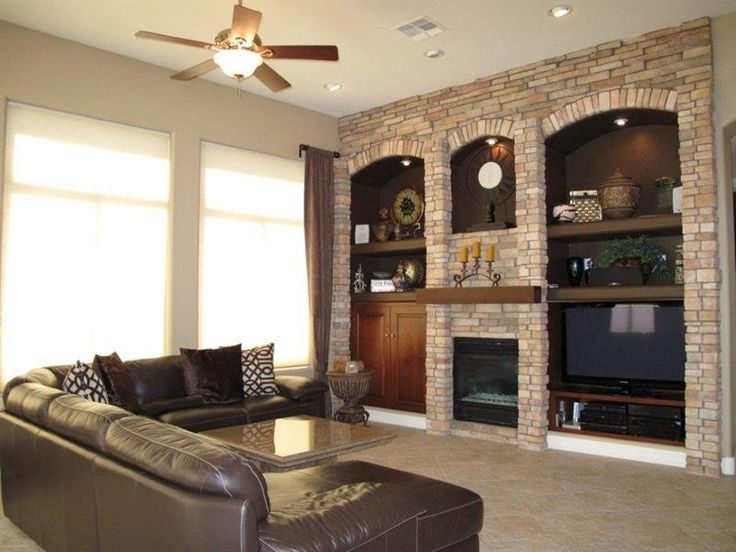 Fireplace with built ins   Living Room Remodel   Pinterest ...