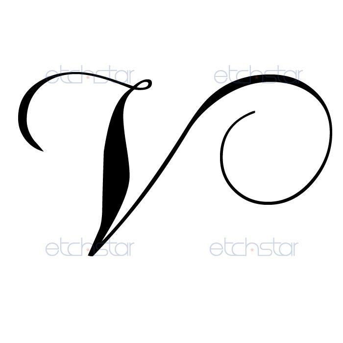 Gallery For > V Letter Design Tattoo