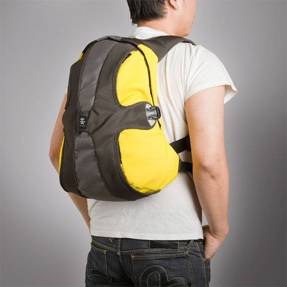 "Crumpler - Salary Sacrifice - Backpack for the 13"" and looks good."