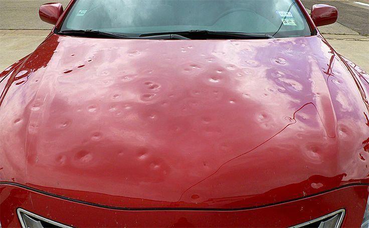 Repairing Hail Damage To Your Car Cartips Auto Repair Car Repair