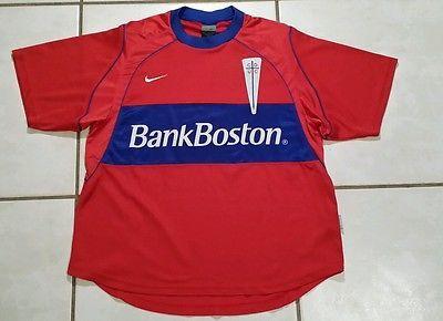 Vintage NIKE Club Deportivo Universidad Catolica 2002  Away Jersey Men's Medium
