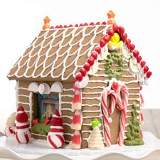 Construction Gingerbread for Gingerbread Houses – A sturdy, easy to work with cookie dough, perfect for house construction.