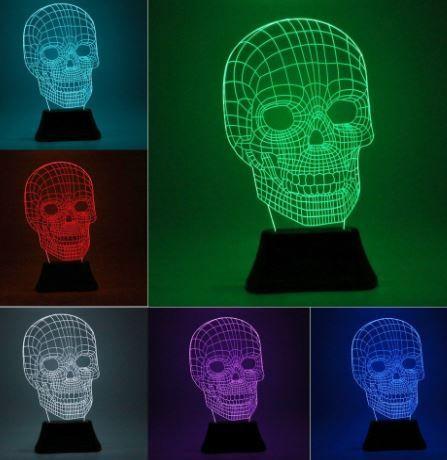 3d skull light halloween http://wallartkids.com/halloween-bedroom-ideas-spooky