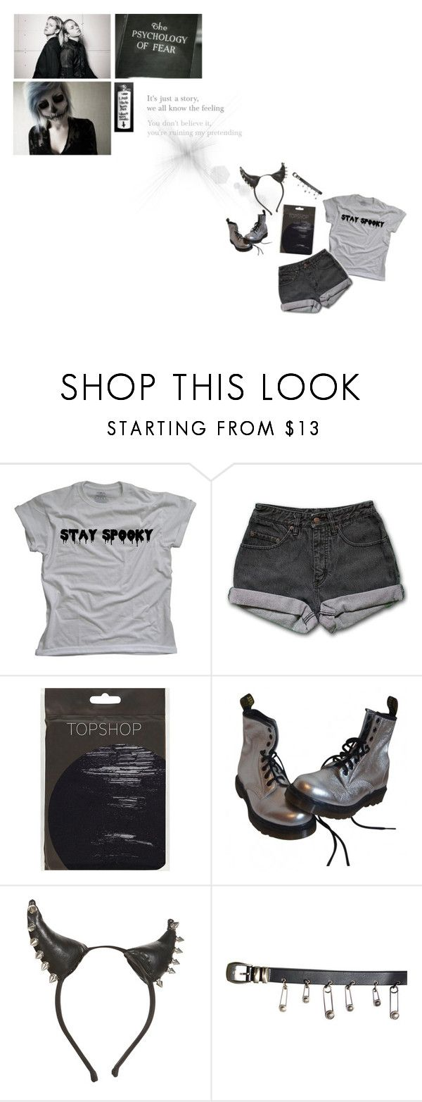 """""""I here will never be a day when reality can shut me up"""" by countess-jessica-rose ❤ liked on Polyvore featuring PèPè, Dr. Martens and Versace"""