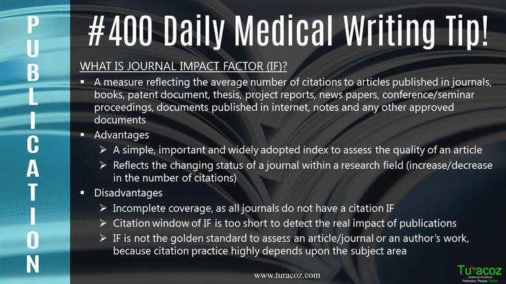 #Turacoz discusses about advantages/disadvantages of #Journal impact factor.