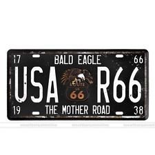 USA Route 66 Vintage Metal sign Tin Wall Art Poster Home Garage Pub Bar decor