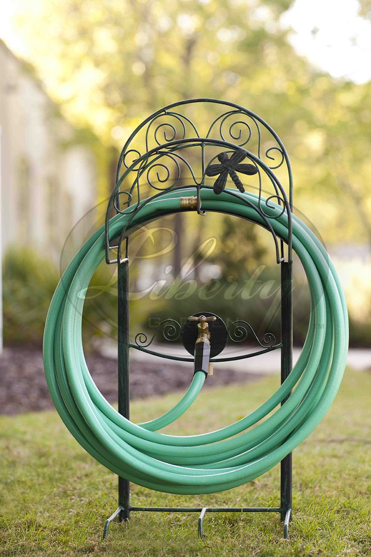 The Model 642 #Dragonfly Is An #attractive And Eye Catching Hose Stand That  Will