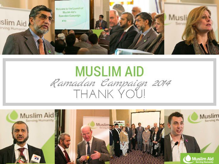 Muslim Aid's Ramadan campaign has officially started and the countdown to Ramadan has begun! A huge thank you to all that attended and helped make this event possible!  #MyFreedom #Ramadan2014 http://bit.ly/Ramadan_campaign