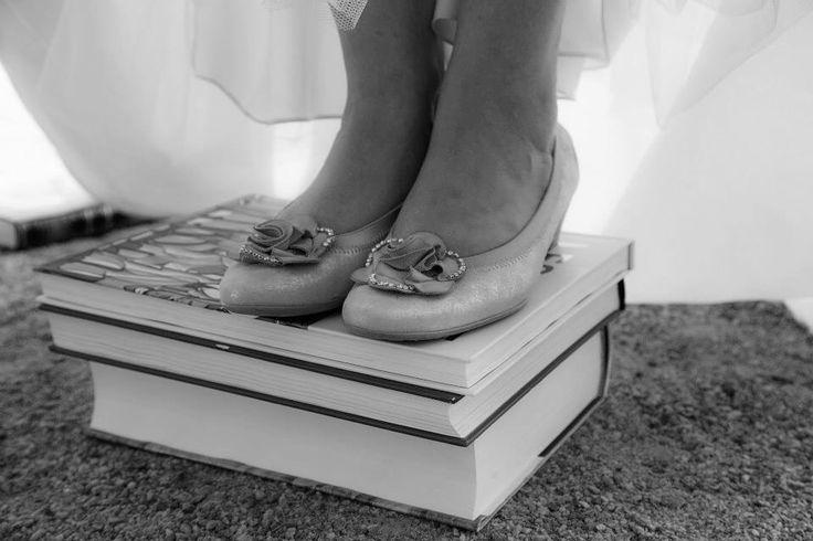 Mes souliers - mariage littéraire Photo Lévy L Marquis