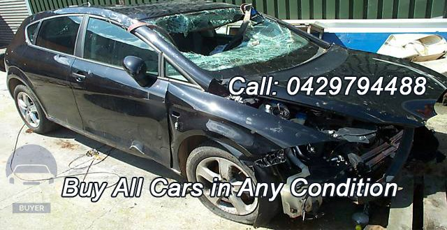 Call us today and get amazing cash for your old car.  Phone: 0429 794 488