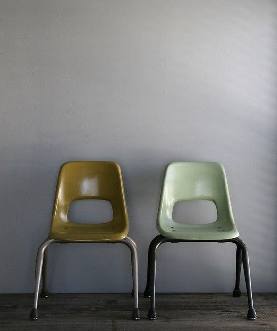 fiberglass children chairs