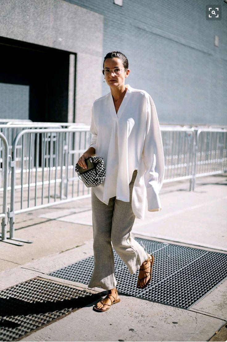 Flattering white Look Summer vibes (mit Bildern