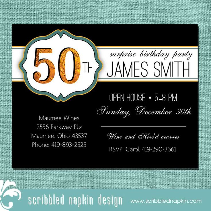 18 best Invite Ideas images on Pinterest | Anniversary ideas ...