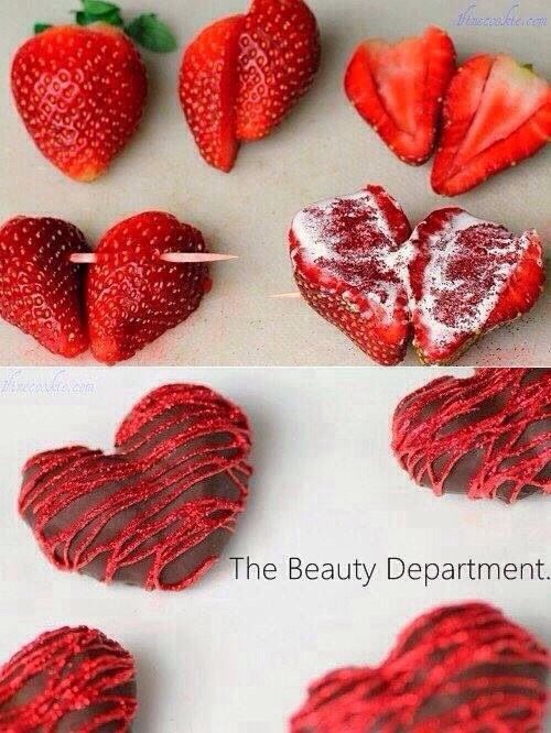 How To Make Chocolate Hearts #Food #Drink #Trusper #Tip