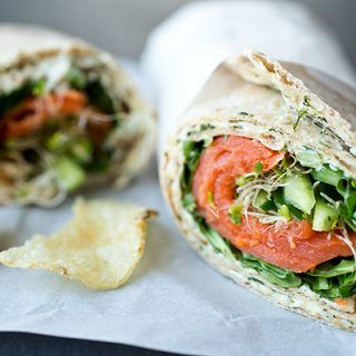 A Cozy Lunchbox: Smoked Salmon Lavash Wrap For When Melancholy Monday Rolls Around
