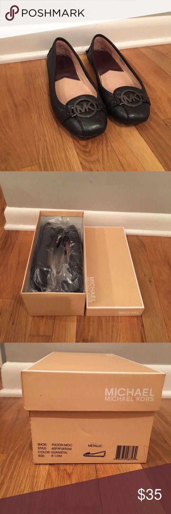 Michael Kors Flats Barely worn Michael Kors Flats still in original box and packaging. MICHAEL Michael Kors Shoes Flats & Loafers