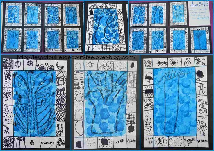 L'arbre bleu de Peirre Aleshinsky