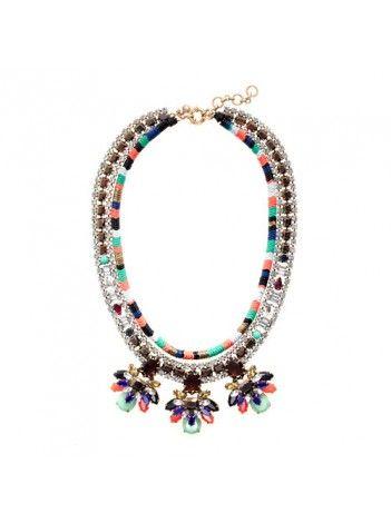 J Crew Stone Burst Necklace $89