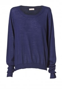 "Perfect slouchy fit for autumn and winter! ""The Collector"" jumper, $220 www.sassandbide.com"