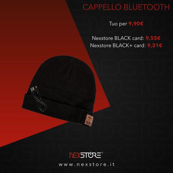 NEXSTORE©•CAPPELLO BLUETOOTH-LA MUSICA CHE TI RISCALDA• •Link video completo YouTube: https://youtu.be/ISS47ua_XJI •Link prodotto: https://www.nexstore.it/product-page/cappello-bluetooth #nexstore #website #ecommerce #shoppingonline #electronics #technology #hat #winter #music #bluetooth #wireless