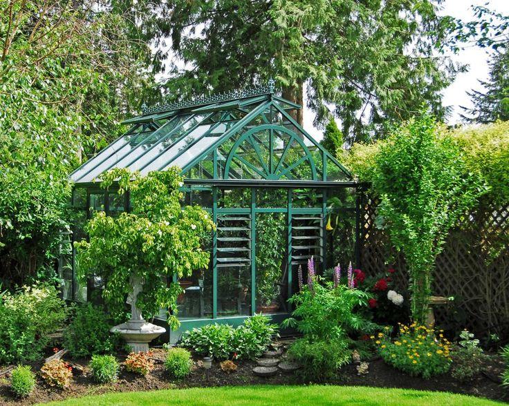 Explore an HGTV Gardens gallery of beautiful greenhouse designs.