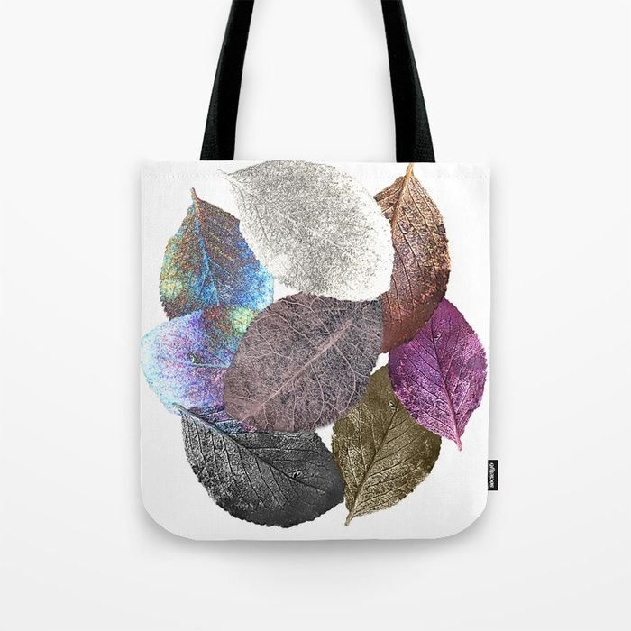 Buy Leaf mosaic(33) Tote Bag by maryberg. Worldwide shipping available at Society6.com. Just one of millions of high quality products available.