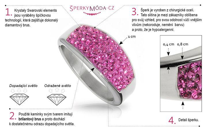 Prsten s krystaly Swarovski elements.  #sperky #jewellery #jewelry #fashionjewellery #bizu #rings #czech #czechgirl #prsten
