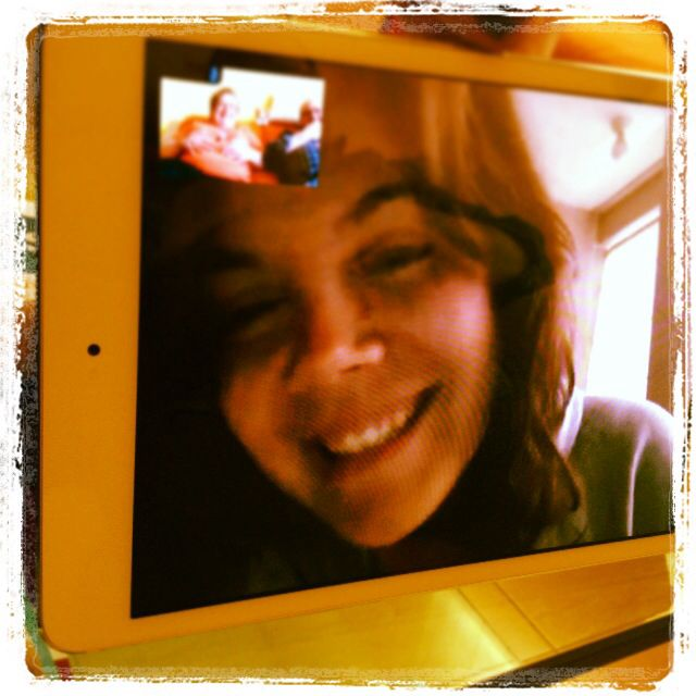 Videoconferencia con Silvia desde Peru