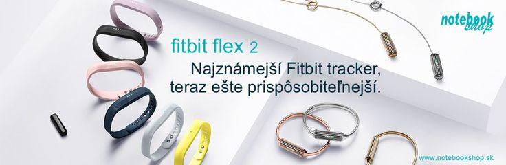 Fitbit Flex 2 je tenký elegantný fitnes náramok, ktorý môžete nosiť kdekoľvek na tele. http://www.synetics.sk/fitbit-flex2.html