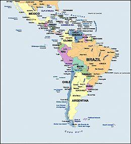 The 25 best Latin america map ideas on Pinterest South america