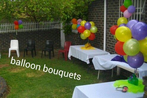 Outside birthday Party