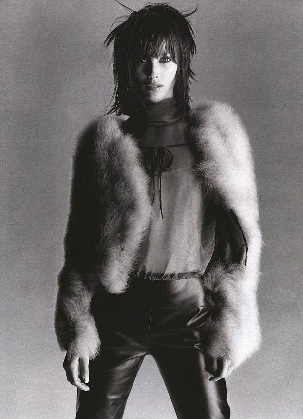 Christy Turlington for ELLE 2000'