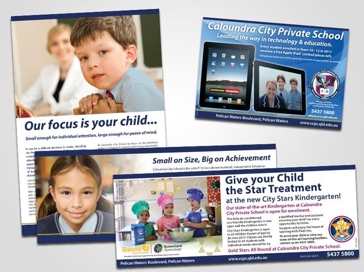Caloundra City Private School Ads