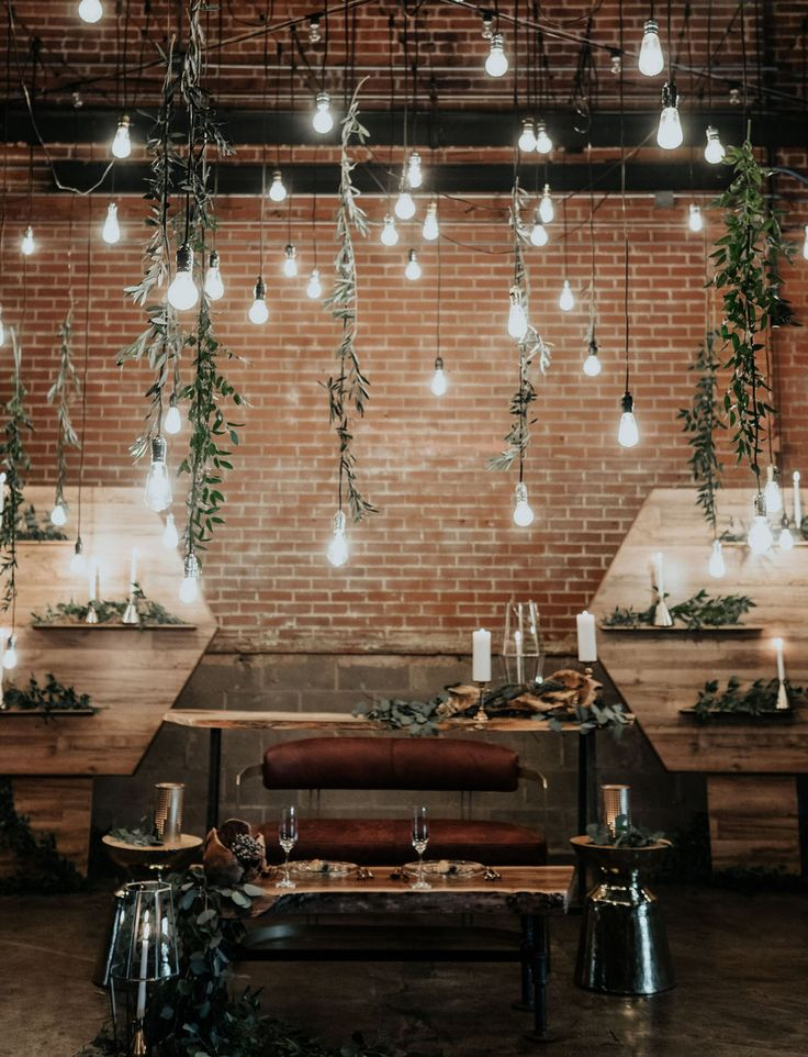 Refined Industrial When Wood Meets Water Wedding Inspiration
