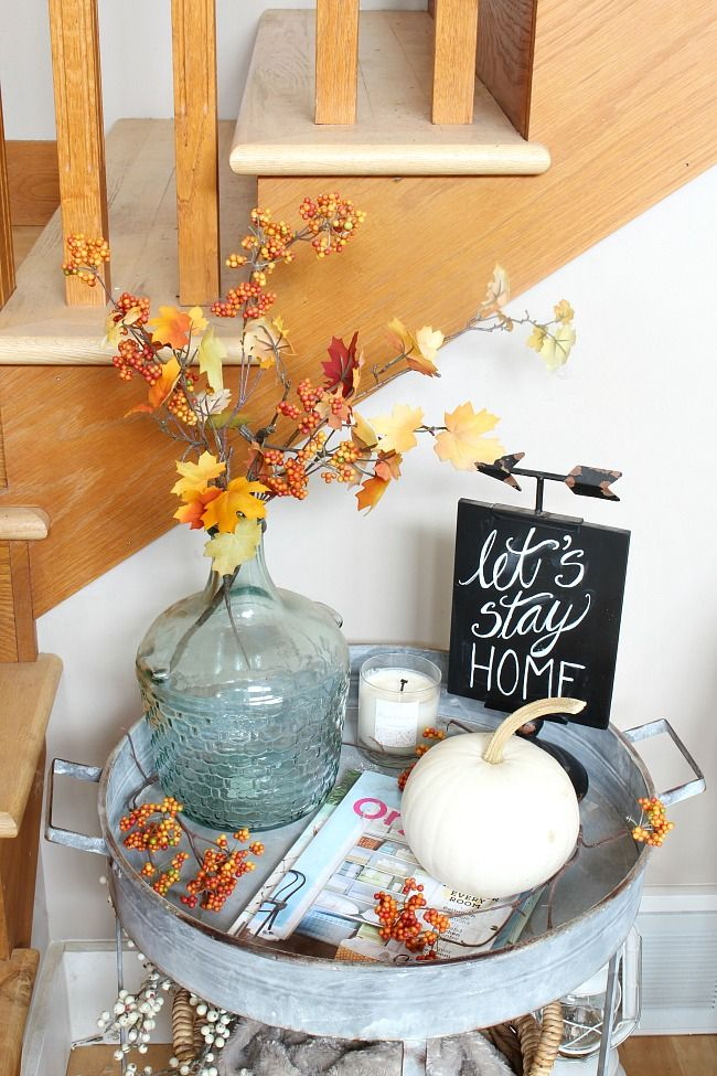 Fall Hygge Our Fall Family Room Home Tour Autumn Interior
