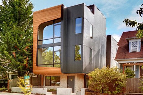Malboeuf Bowie Architecture transforms a single-family home lot into three distinct townhouses. Read more about this in our new blog! #SADMBlog #MalboeufBowie
