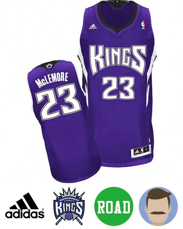 538f09404f1 ... Mitch Richmond 23 Dont miss the chance to get Mens Adidas Sacramento  Kings 23 Ben McLemore Purple Revolution 30 ...