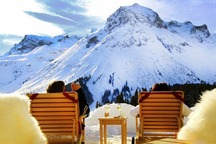 http://www.goldenerberg.at Skiurlaub im Frühling am Arlberg