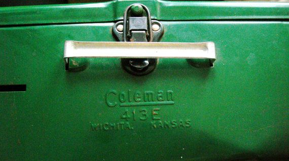 Mid Century Vintage Coleman Camping Stove Outdoor picnic two Burner All Original with Paperwork