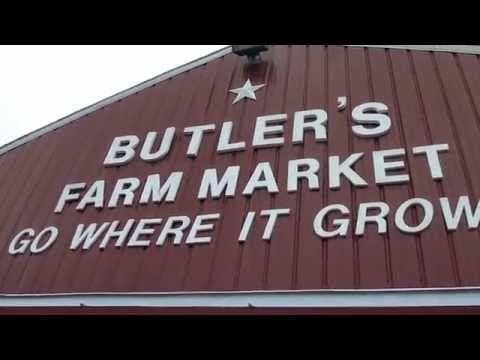 Butlers Farm Market in Martinsburg WV - YouTube