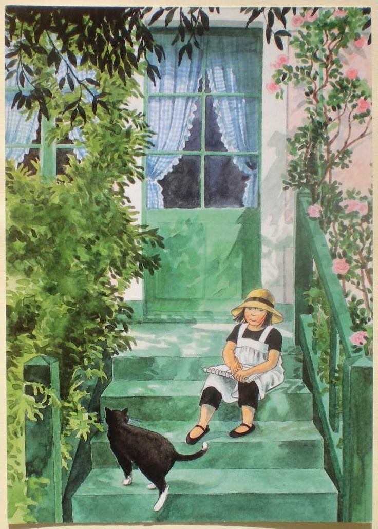 Linnea in Monet's Garden • Christina Björk, author, Lena Anderson, illustrator