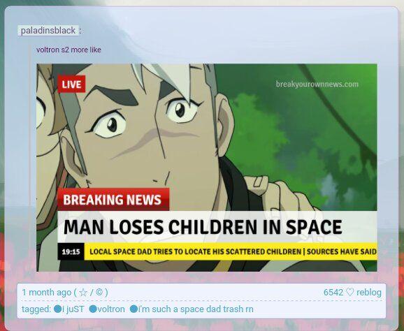 Vld crack - space dad loses his space children