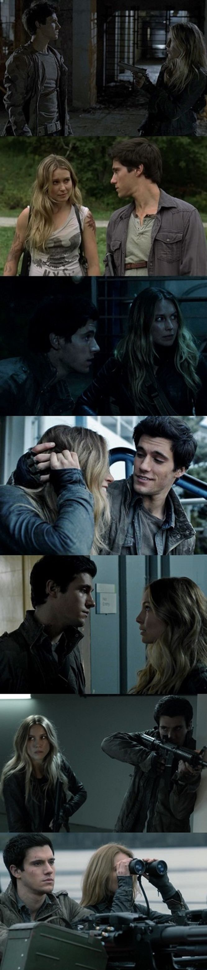 Maggie and Hal from Falling Skies. I've basically loved them since the very beginning, and with Season 4 right around the corner, my fear/excitement is growing