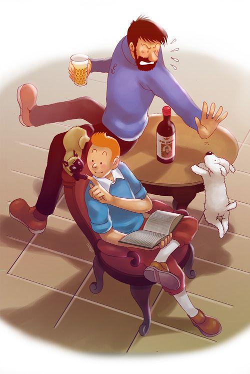 Tintin @deviantART