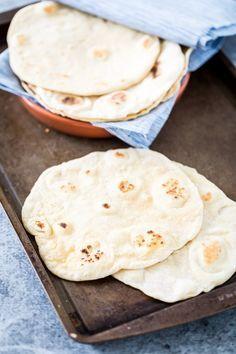 Easy, Homemade, Yeast-Free Flatbread