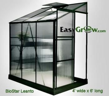 BioStar Lean to Greenhouse Kit