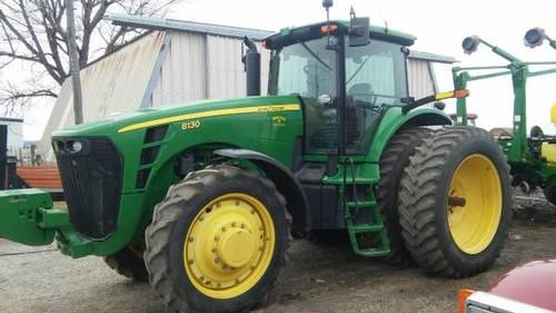 2006 John Deere 8130 Tractor for sale by owner on Heavy Equipment Registry  http://www.heavyequipmentregistry.com/heavy-equipment/15768.htm
