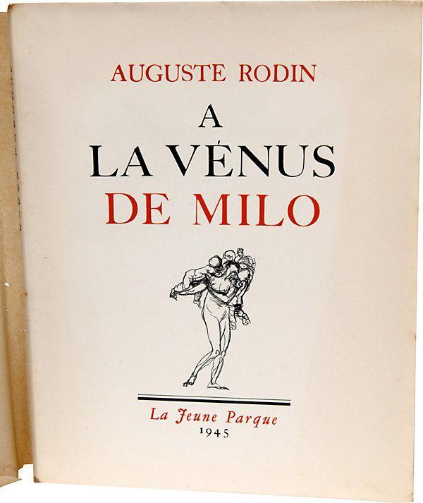 One Kings Lane - The Grand Tour - A La Venus de Milo, 1st Ed