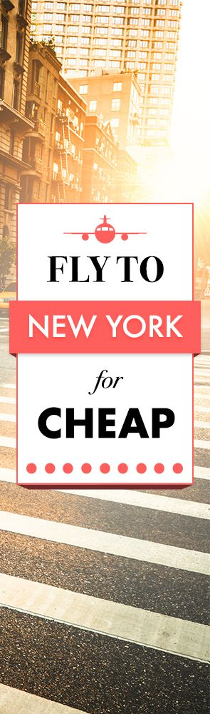 Find the cheapest flights to New York!  Airfarewatchdog helps you save money when you book your next flight - so you always get the best deal.